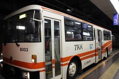 3.立山トンネルトロリーバス